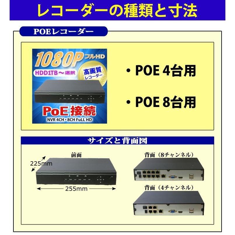 Rec 選択1 PoE/IP