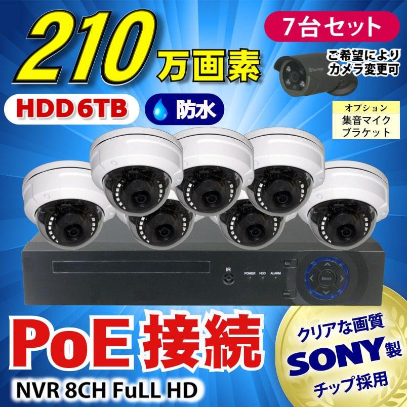 カメラ�レコーダーセット(PoE)