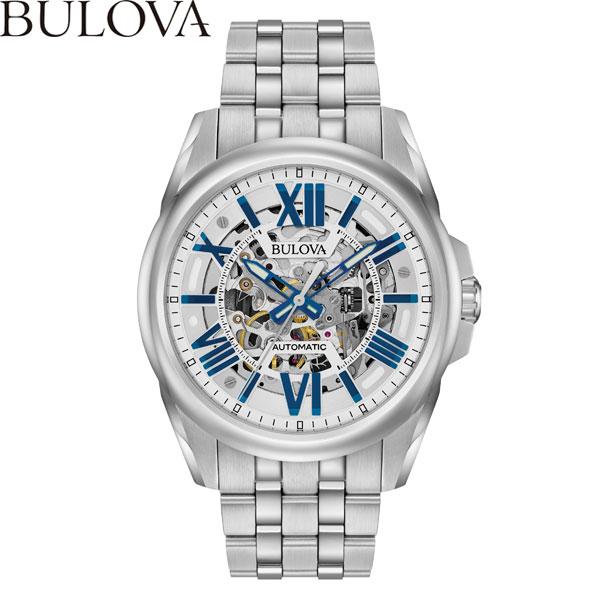 【無金利ローン可】 ブローバ [BULOVA] 96A187 オートマチック [AUTOMATIC] 自動巻き メンズ 腕時計 時計