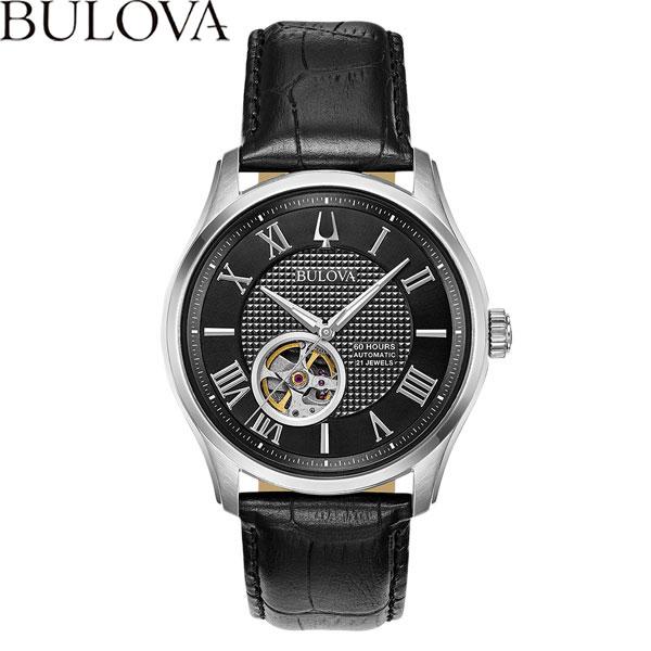 【無金利ローン可】 ブローバ [BULOVA] クラシック ウィルトン [CLASSIC Wilton] 96A217 オートマチック 自動巻 メンズ 腕時計 時計