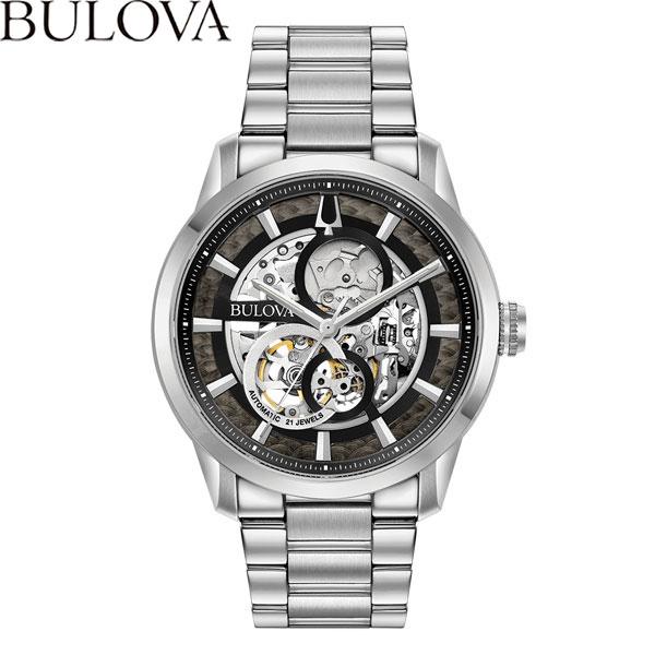 【無金利ローン可】 ブローバ [BULOVA] クラシック [CLASSIC] 96A208 サットン [Sutton] オートマチック 自動巻 メンズ 腕時計 時計