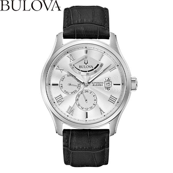 【無金利ローン可】 ブローバ [BULOVA] クラシック ウィルトン [Classic Wilton] 腕時計 メンズ 自動巻 機械式 革ベルト 96C141