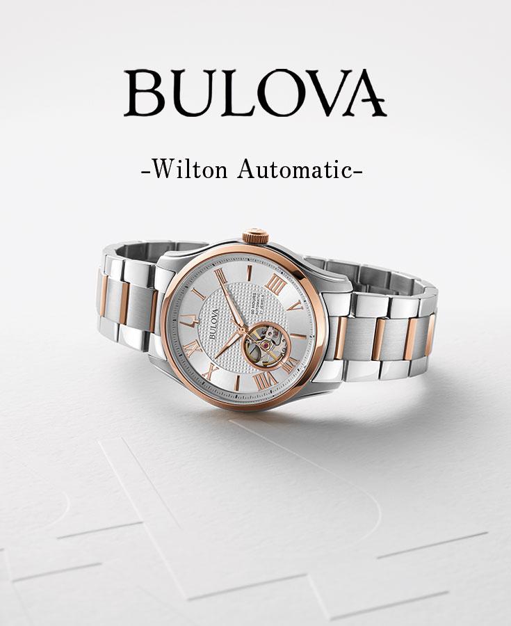 Bulova [BULOVA] classical music [CLASSIC] 96A218 will ton [Wilton]  automatic men self-winding watch watch clock [birthday present present gift]