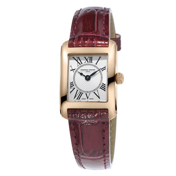 【3年間無料点検付】 フレデリックコンスタント [FREDERIQUE CONSTANT] クラシック カレ レディース クオーツ FC-200MC14 腕時計 時計