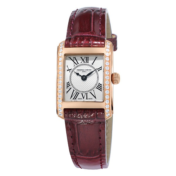 【無金利ローン可】【3年間無料点検付】 フレデリックコンスタント [FREDERIQUE CONSTANT] クラシック カレ レディース クオーツ FC-200MCD14 腕時計 時計
