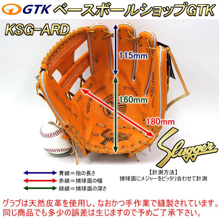 久保田スラッガーの軟式用グラブ KSN-ARC ブラック