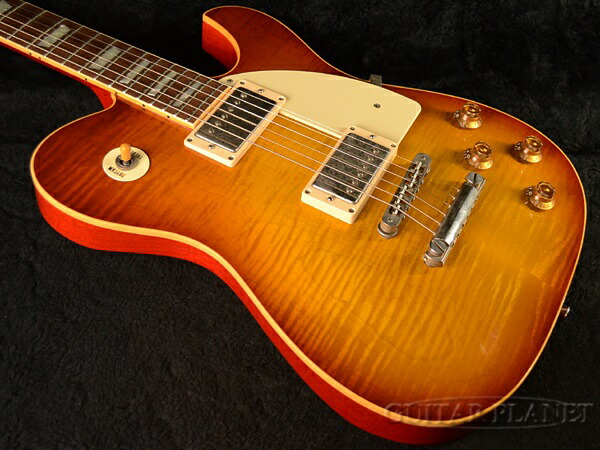 Guitar Planet Alt De Facto Tc6 Carved Top Tobacco Burst