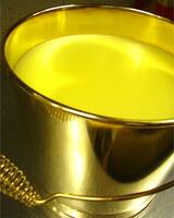 黄金のバケツプリン