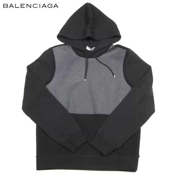 【送料無料】 BALENCIAGA (バレンシアガ) メンズ ブルオーバー パーカー 360314 TKK26 1000 【