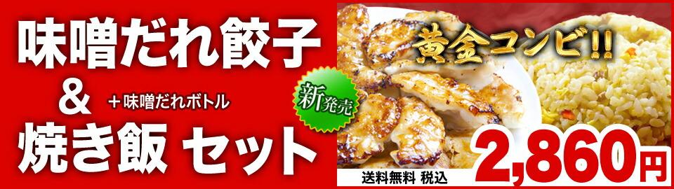 餃子&焼き飯セット