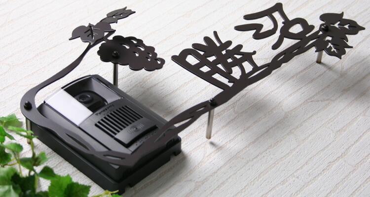 インターホンデコレーション表札「ぶどう畑」