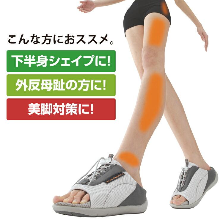 健康サンダル ダイエットサンダル 勝野式 美脚サンダル オフィスサンダル 外反母趾 スリッパ 男女兼用