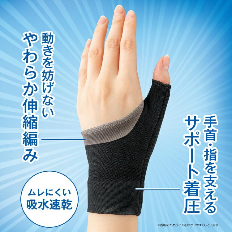 手首サポーターで使いすぎの手首の痛みをサポート