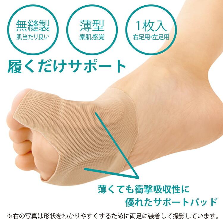 外反母指 外反拇指 外反拇趾 足補正 薄手 目立たない サポーター 外反母趾サポーター