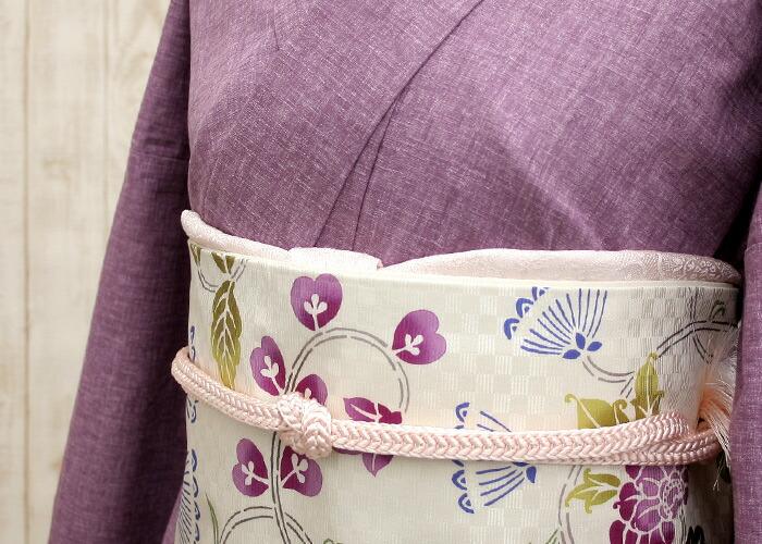 正絹染め京袋帯
