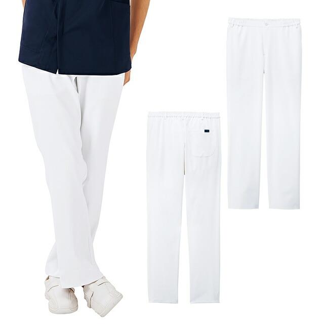 5027SC フォーク ナースウェア パンツ 男性用 スリムストレート ストレッチ