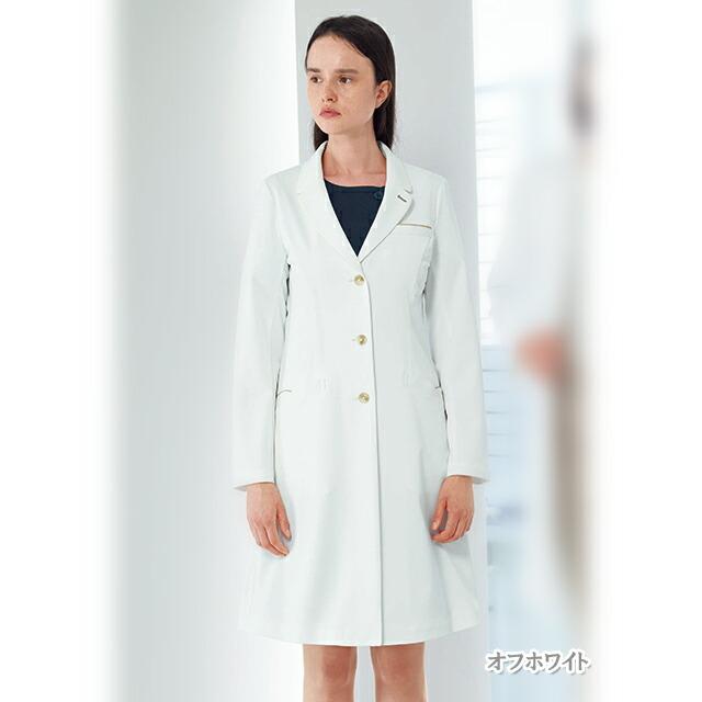 LH6260 ナガイレーベン 女子シングルドクターコート