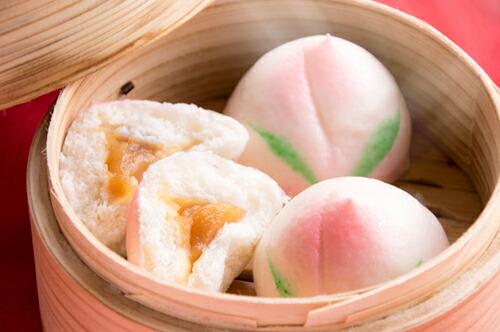 【★冷凍】香上天寿桃小包