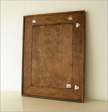 壁掛け組み木ミラー(4)