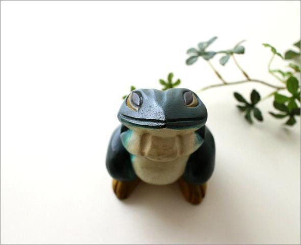 木彫りのカエル(4)