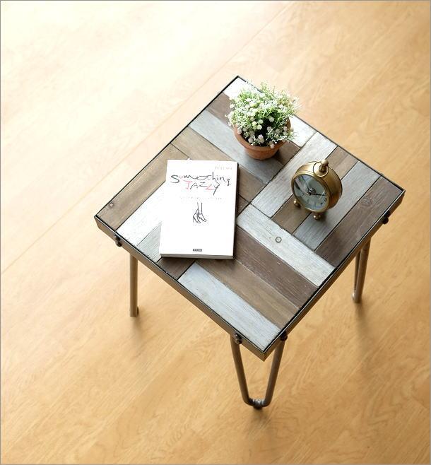 ウッドワーク サイドテーブル(1)
