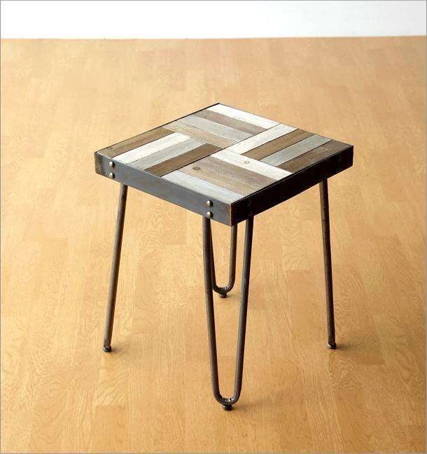 ウッドワーク サイドテーブル(4)