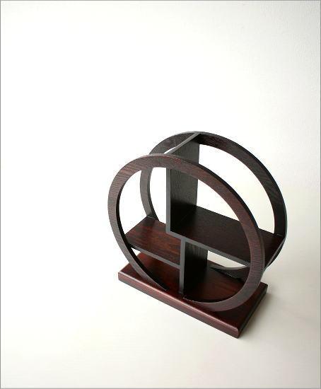 飾り棚 丸(小) (3)