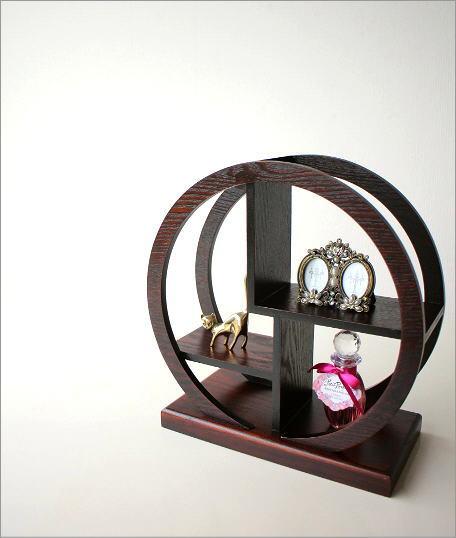 飾り棚 丸(小) (4)