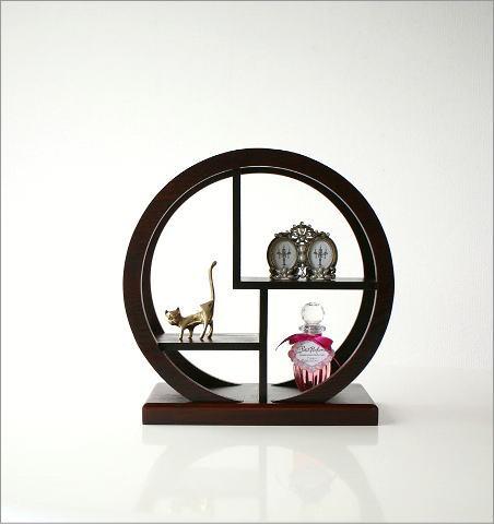 飾り棚 丸(小) (6)