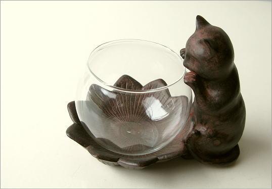 花瓶 子ネコのミニベース(4)
