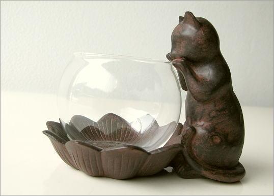 花瓶 子ネコのミニベース(5)