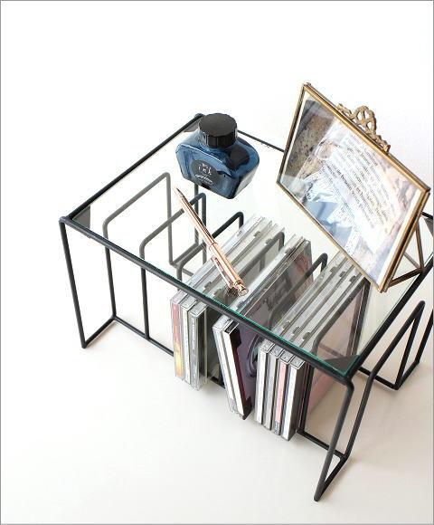 hakusan | rakuten global market: glass shelf cd stand cd rack book
