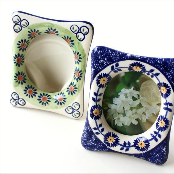 陶器のフォトフレーム 2タイプ(1)