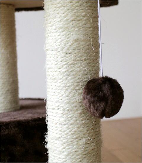 キャットツリー ブラウン(3)