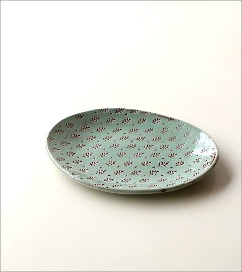 印伝 楕円皿(3)