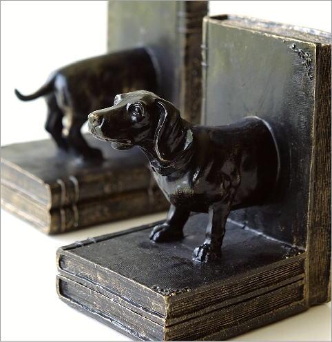 ブックエンド 犬(2)
