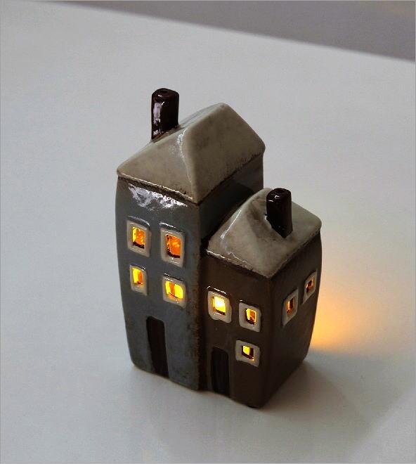 LEDキャンドルハウスC(4)