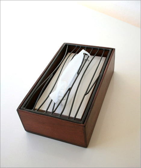 アイアンティッシュケースボックス B(1)