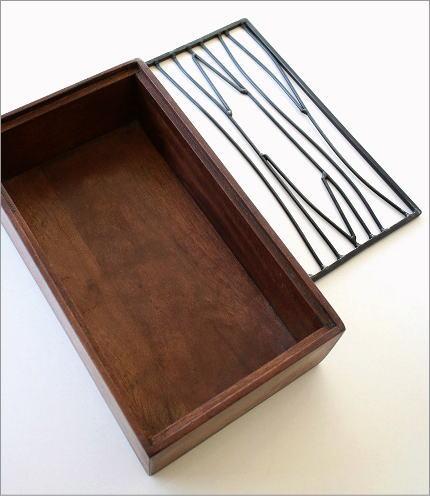 アイアンティッシュケースボックス B(3)