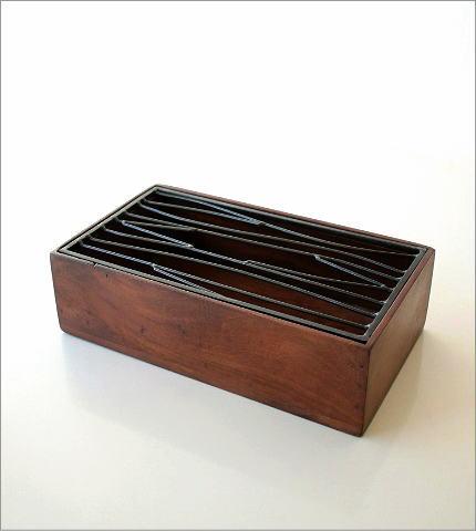 アイアンティッシュケースボックス B(5)