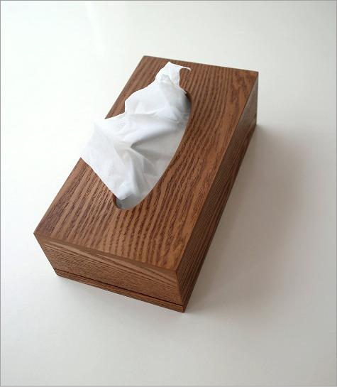 ウッドシンプルティッシュボックス(5)