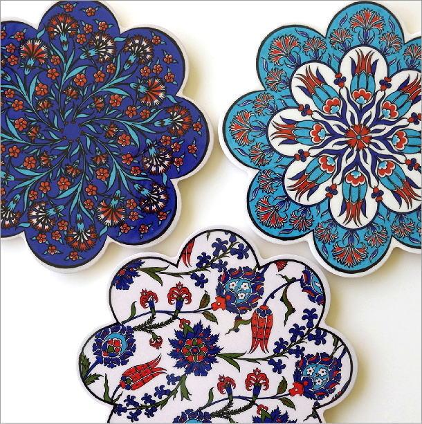 トルコの陶器プレート(1)
