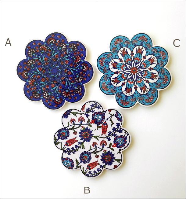 トルコの陶器プレート(4)