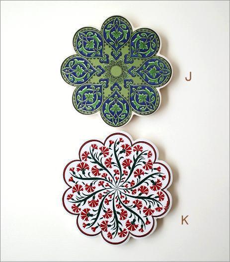 トルコの陶器プレート(10)