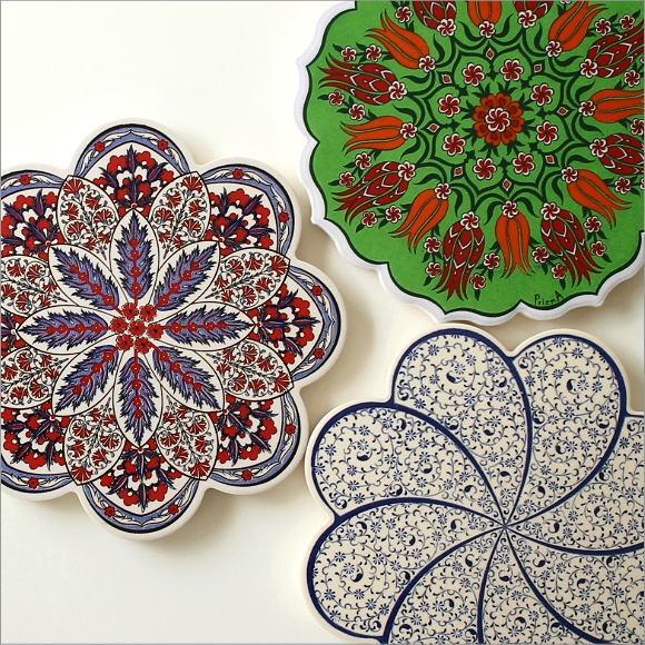 トルコの陶器プレート(5)