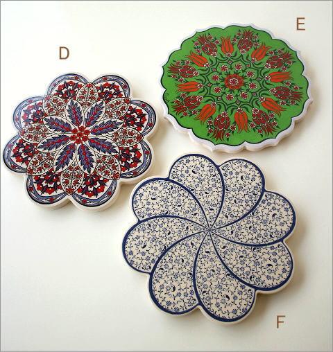 トルコの陶器プレート(6)
