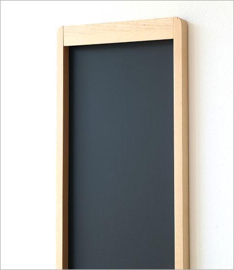 ナチュラルウッドの黒板 縦型(2)