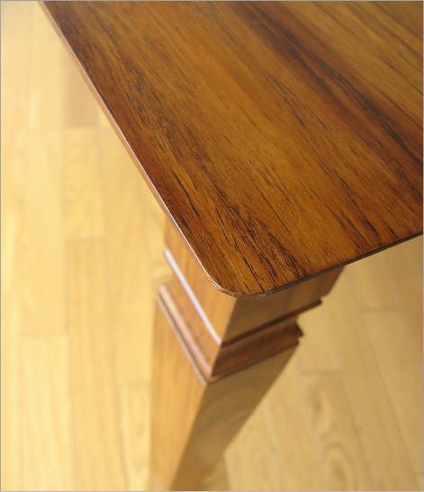 チークダイニングテーブル135(4)