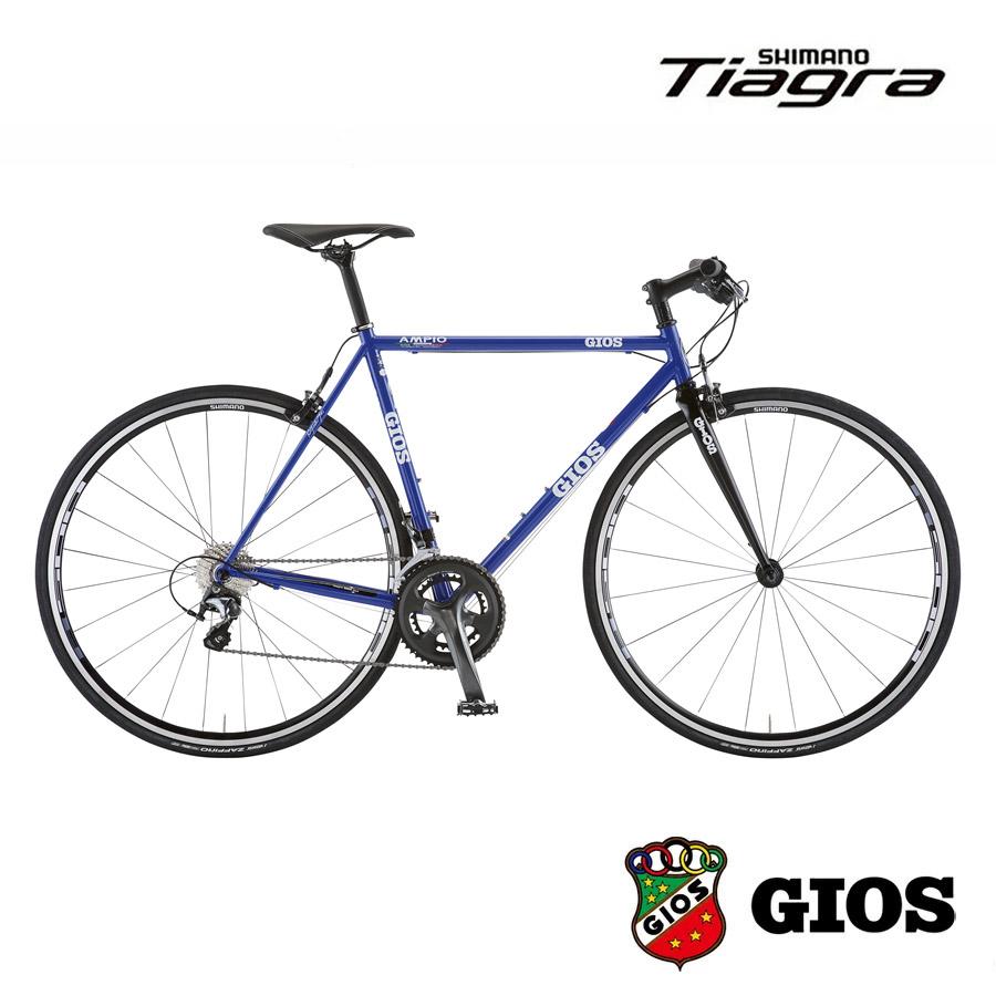 749fa88a1e4 細身のクロモリフレームを採用した快適な乗り心地のスピードバイク. GIOS(ジオス) AMPIO TIAGRA アンピーオ ティアグラ