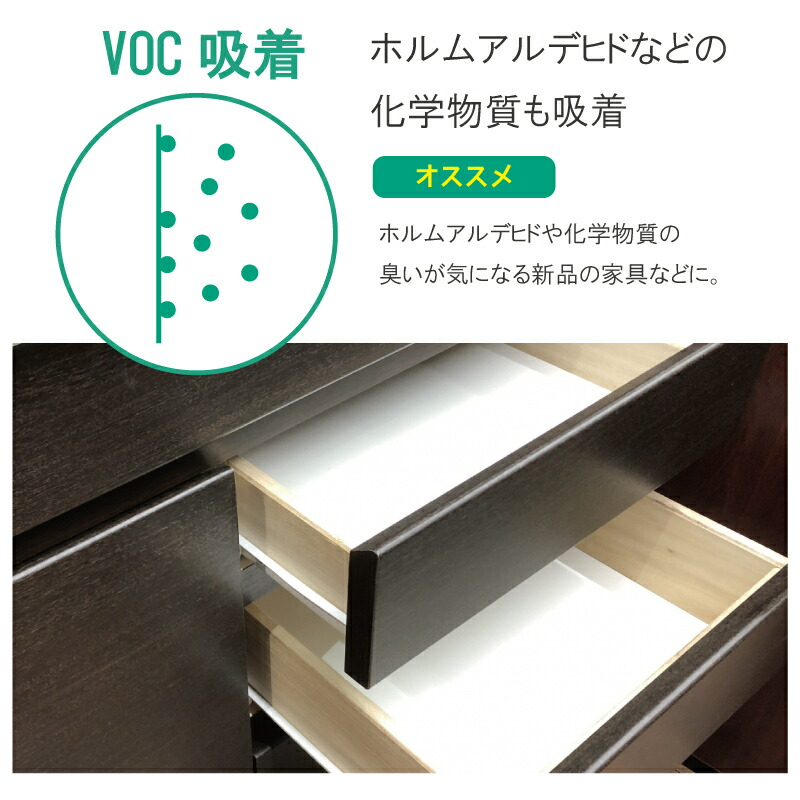 VOC吸着